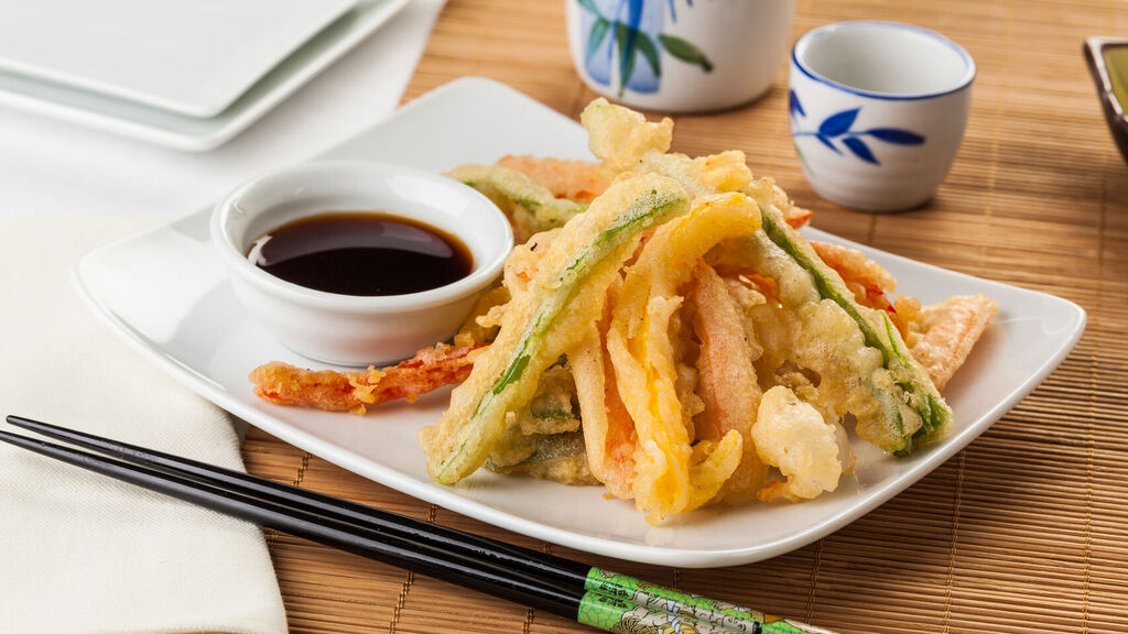 Fritura en tempura